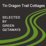 Green Getaways logo for Tin Dragon Trail Cottages