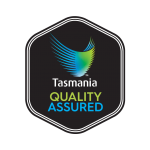 Tasmania quality assured logo