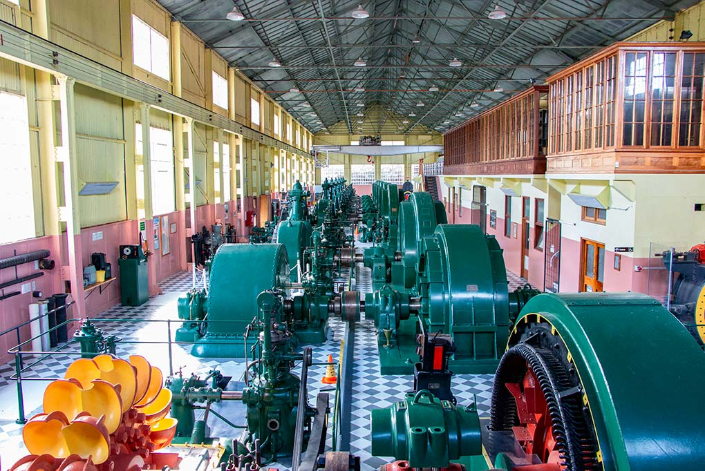 Hydro electric heritage at the Waddamana Power museum