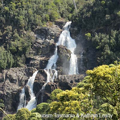 St Columba Falls in North East Tasmania