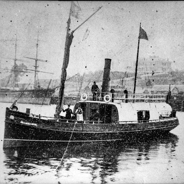 SS Minx was a coastal steamer operating around Launceston from 1889.